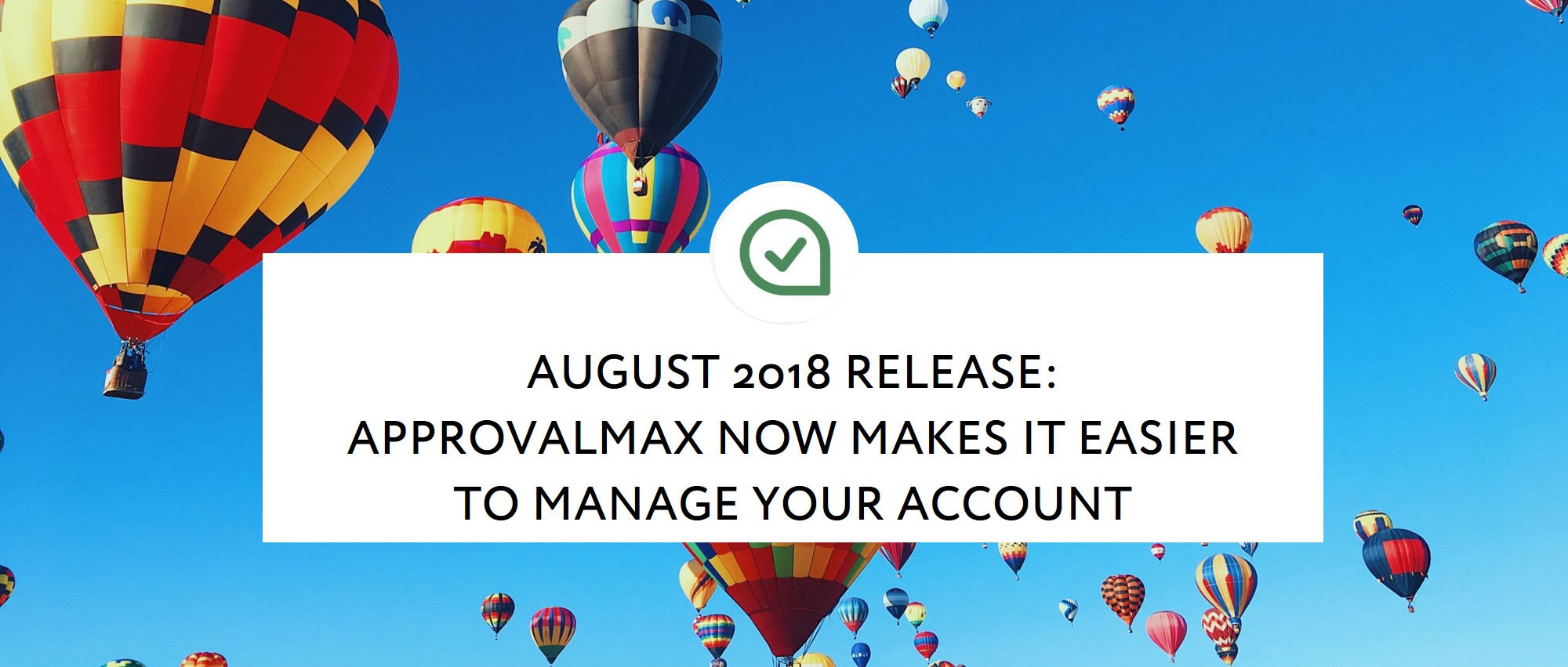 August 2018 Release