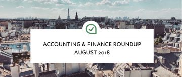 August 2018 Roundup