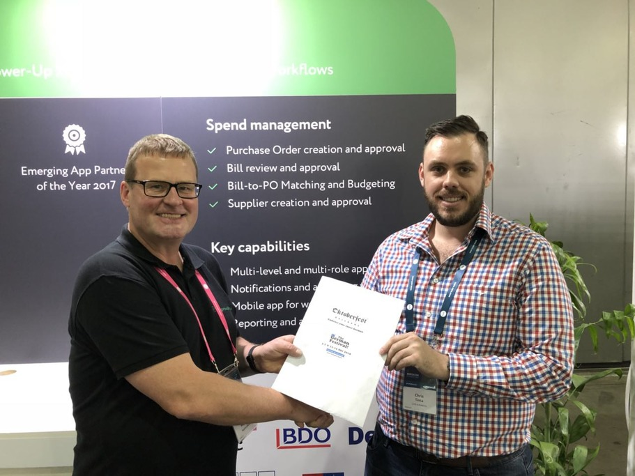 Congratulations to Chris Tinta from LinkAdvisors Chartered Accountants – the lucky winner of our Xerocon Lottery draw!