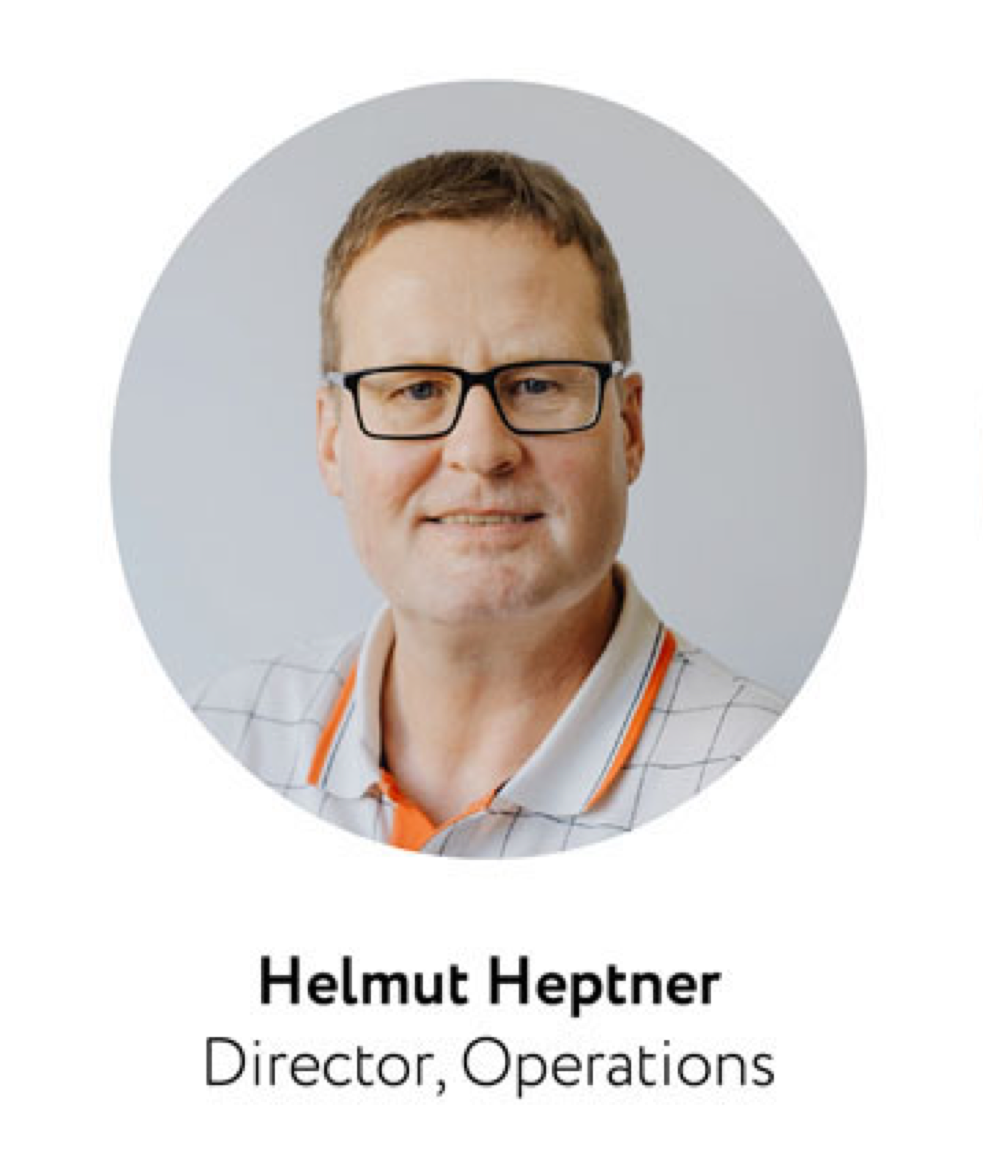 Helmut Heptner Director, Operations, ApprovalMax