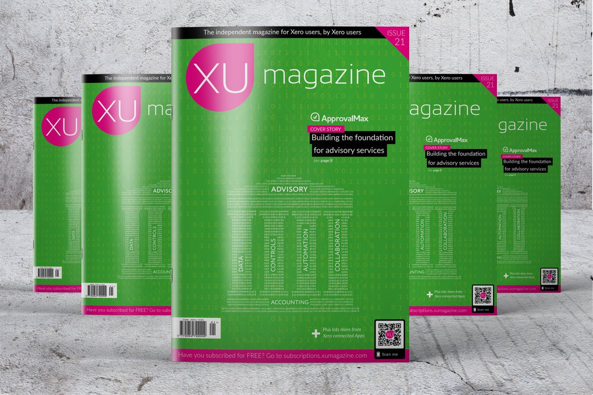 XU Magazine 21 ApprovalMax Building the foundation for advisory services