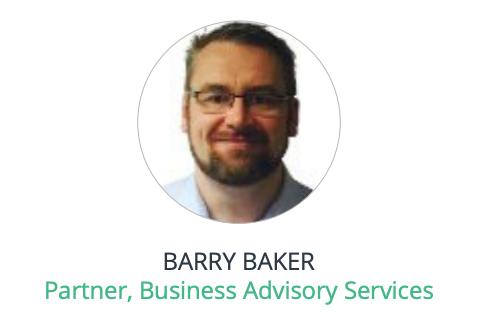 BARRY BAKER Partner, Business Advisory Services