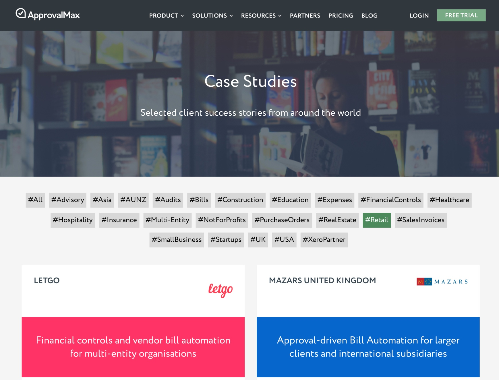ApprovalMax Case Study Library