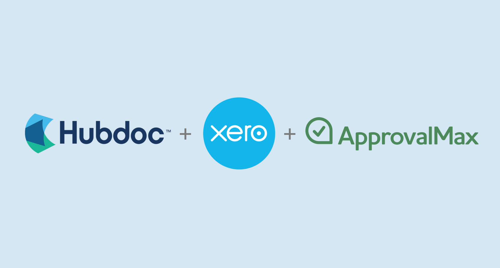 Hubdoc and ApprovalMax are now connected via Xero
