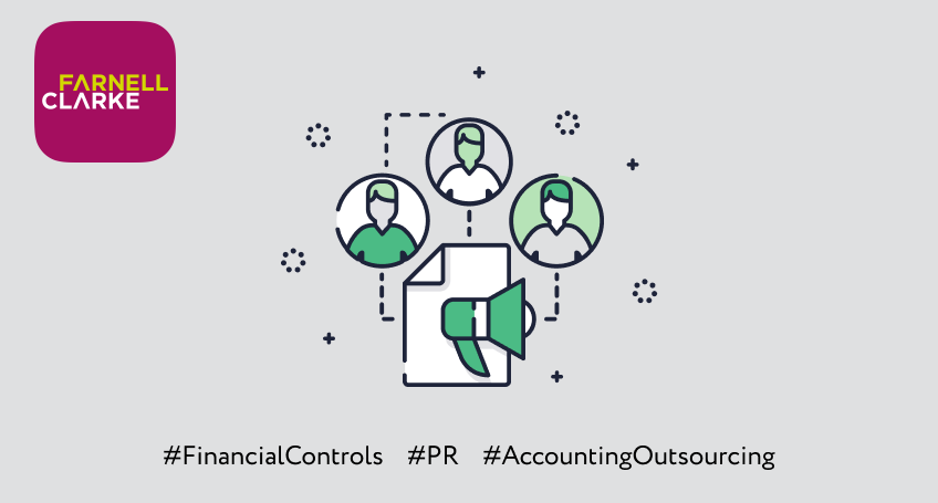 Putting financial controls in place to successfully outsource the finance function of a PR agency